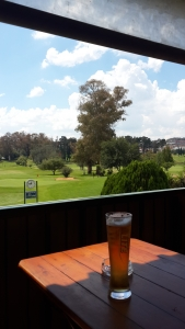 A nice cold beer at the 19th