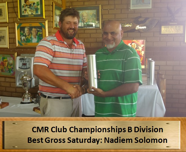 B Div Best Gross Saturday