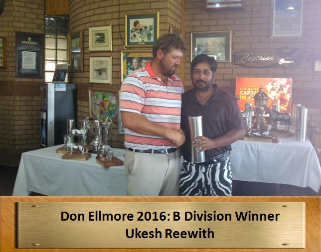 Don Elmore B Division