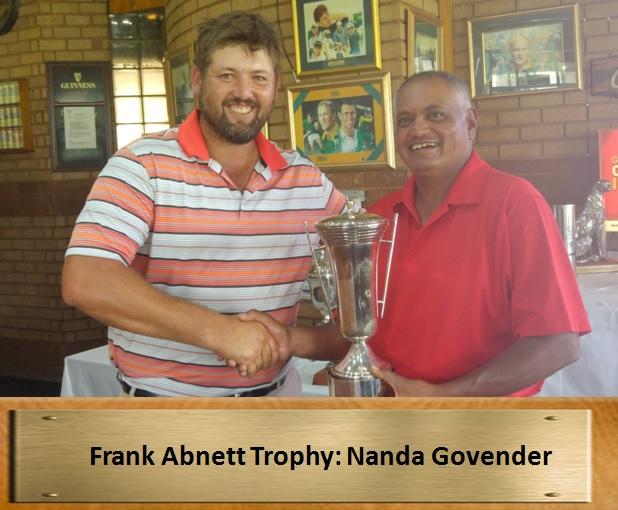 Frank Abnett trophy