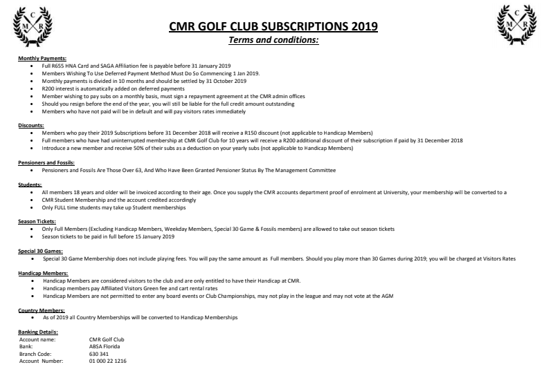 Latest Subscription Forms Membership Forms And More